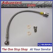 Subaru Impreza WRX STi Stainless Braided Clutch Line Hose Kit 1992-2007
